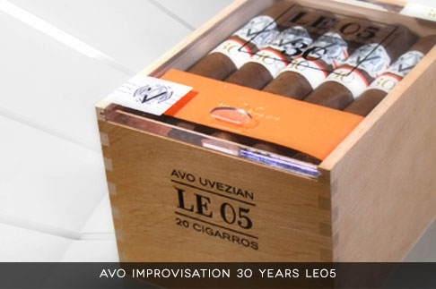 Avo Improvisation 30 Years Limited Edition 05 Cigars