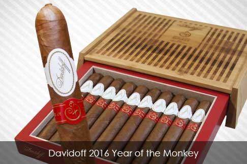 Davidoff 2016 Year of the Monkey Cigars